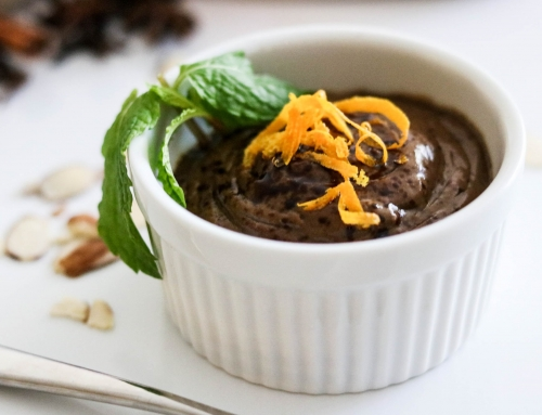 Sugar-free Chocolate Avocado Pudding